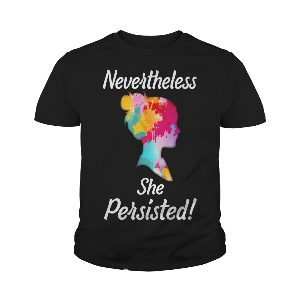 Elizabeth Warren She Persisted T-Shirt