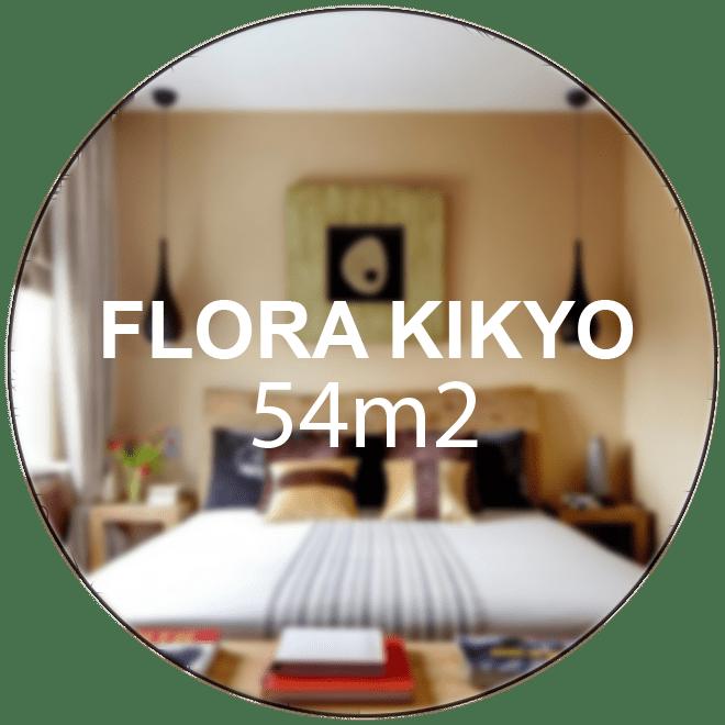 Căn hộ Flora Kikyo 54m2 (2 phòng ngủ 2 WC)