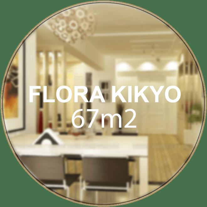 Căn hộ Flora Kikyo 67m2 (2 phòng ngủ 2 WC)