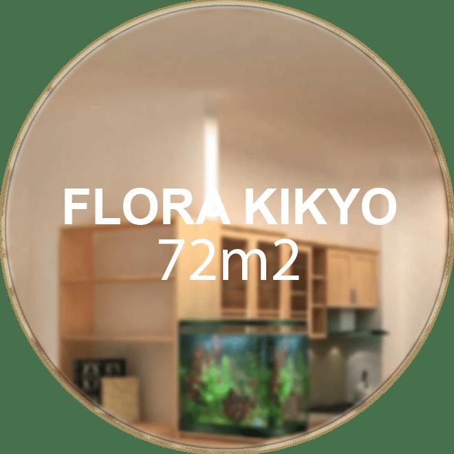Căn hộ Flora Kikyo 72m2 (3 phòng ngủ 2 WC)