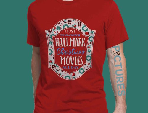 Official I Just Wanna Watch Hallmark Christmas Movies All Day shirt